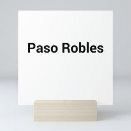 Paso Robles Mini Art Print