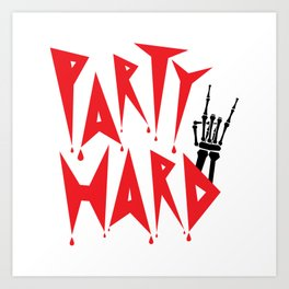 Party to the Bone Art Print