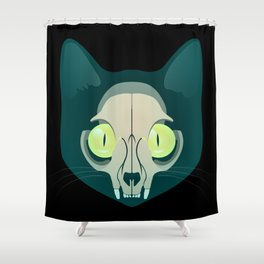 Cat-a-strophy Shower Curtain