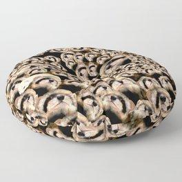 101 furets (101 ferrets) Floor Pillow