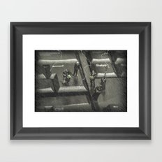 The Curious Case Of Mr Keyboard Framed Art Print