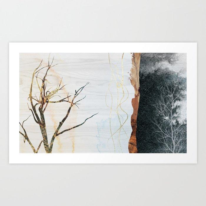 Autumn Arrives 1 Art Print