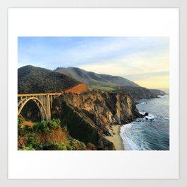 Bixby Bridge, 2015 Art Print
