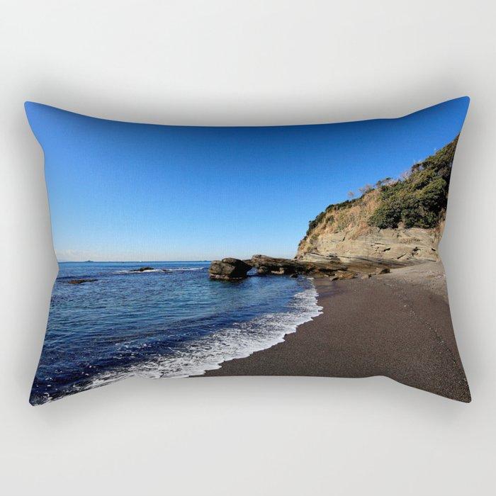 BEACH Black Sands Rectangular Pillow