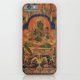 Hindu Krishna Tapestry iPhone Case