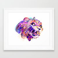hunting Framed Art Prints featuring Hunting by Bea Toa