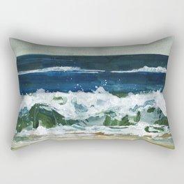 Waves 2 Rectangular Pillow