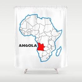 Angola Shower Curtain
