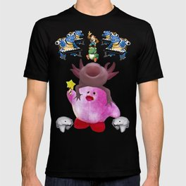 Kirb and friends T-shirt