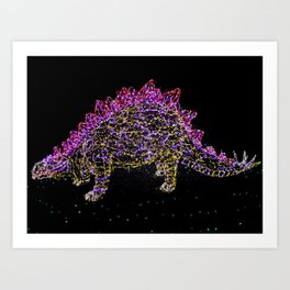 Dino I Color Art Print