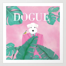 Dogue - Palms Art Print