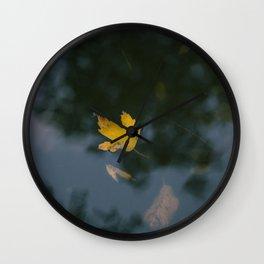 an autumn dream Wall Clock