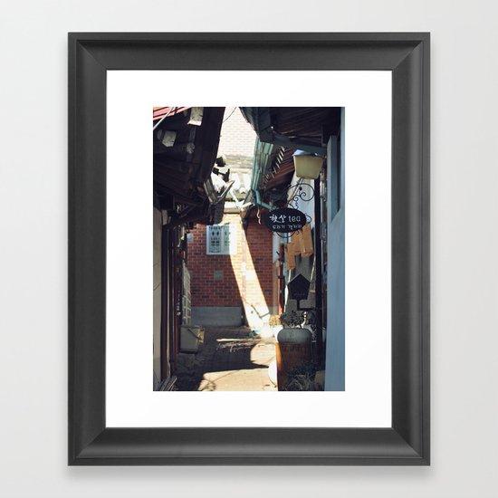 Hidden Tea Ceremony Framed Art Print