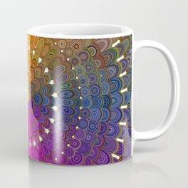 Colorful Floral Mandala Coffee Mug