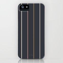Preppy Stripes iPhone Case