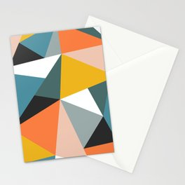 Modern Geometric 36 Stationery Cards