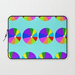Colorful Beachballs Playroom Art  Laptop Sleeve