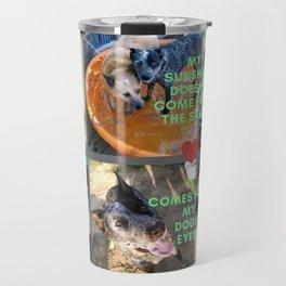 Blue Heelers Travel Mug