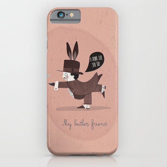 My butler friend iPhone & iPod Case