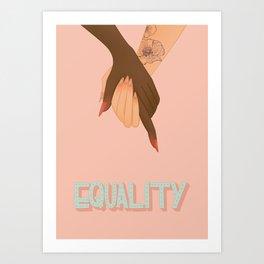 equality Art Print