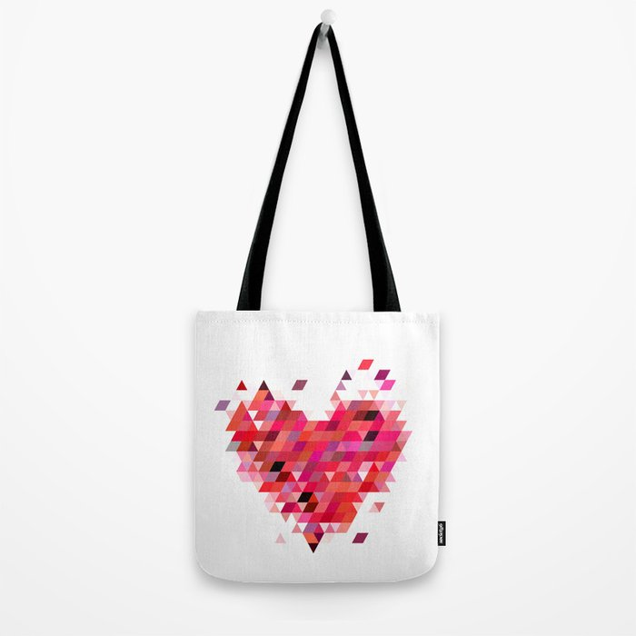 Heart1 Red Tote Bag