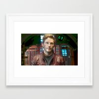 starlord Framed Art Prints featuring Starlord by violethawk