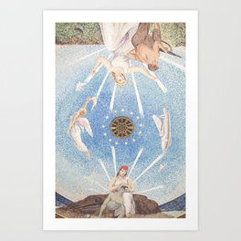 The Mosaic at Normandy Art Print