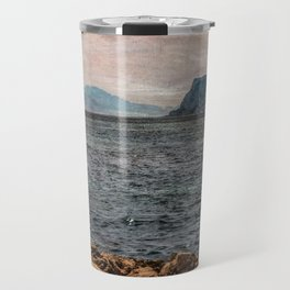 A view to the Rock of Gibraltar Travel Mug