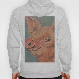 Sweet Smiling Pig Hoody