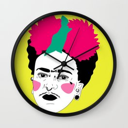 Riot Frida Wall Clock