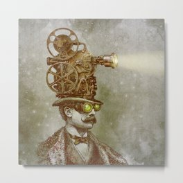 The Projectionist Metal Print