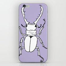 It's a stag beetle, I have no clever name for this.. iPhone & iPod Skin