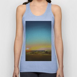 Sahara Sunset Unisex Tank Top