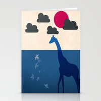 africa Stationery Cards featuring Africa by Mehdi Elkorchi