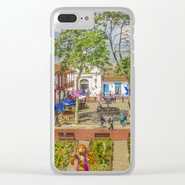 Pueblito Paisa, Medellin - Colombia Clear iPhone Case