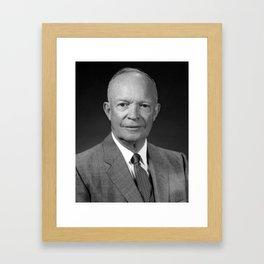President Dwight Eisenhower Framed Art Print