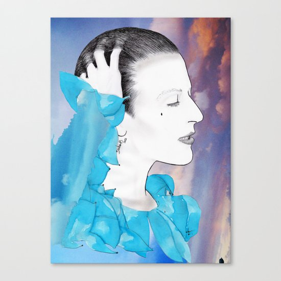 PLANET EARTH IS BLUE... Canvas Print