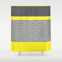 arabic Shower Curtains featuring Arabic by ShivaR