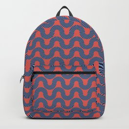 Colored Fifties Pattern 09 Backpack