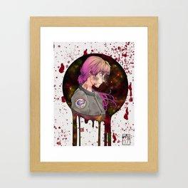 Kady - Illuminae (The Illuminae Files) Framed Art Print