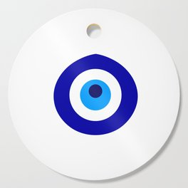 Turkish amulet called Nazar which means sight, surveillance, attention used as a sign of protection Cutting Board