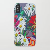 daisies iPhone & iPod Cases featuring Daisies by marlene holdsworth