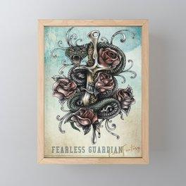 Fearless Guardian Framed Mini Art Print