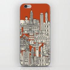 Hong Kong toile de jouy iPhone & iPod Skin