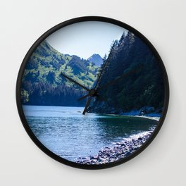 Kodiak Beach Photography Print Wall Clock