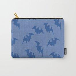 Blue Bats Carry-All Pouch