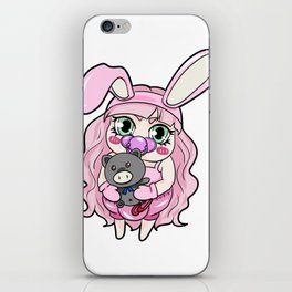 Cute Little Brat Teddy Ageplay ABDL DDLG gift iPhone Skin