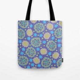 Kantha floral 4 Tote Bag
