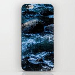 Like Stones Under Rushing Water iPhone Skin