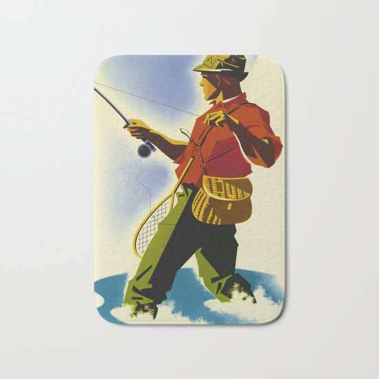 Colorado Fly Fishing Travel Bath Mat